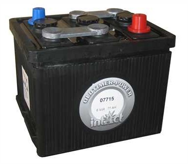 intAct Oldtimer-Power 6V-77Ah
