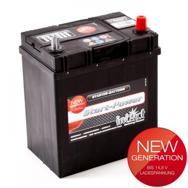 akumulator intact start power 12v 35ah asia d top start. Black Bedroom Furniture Sets. Home Design Ideas