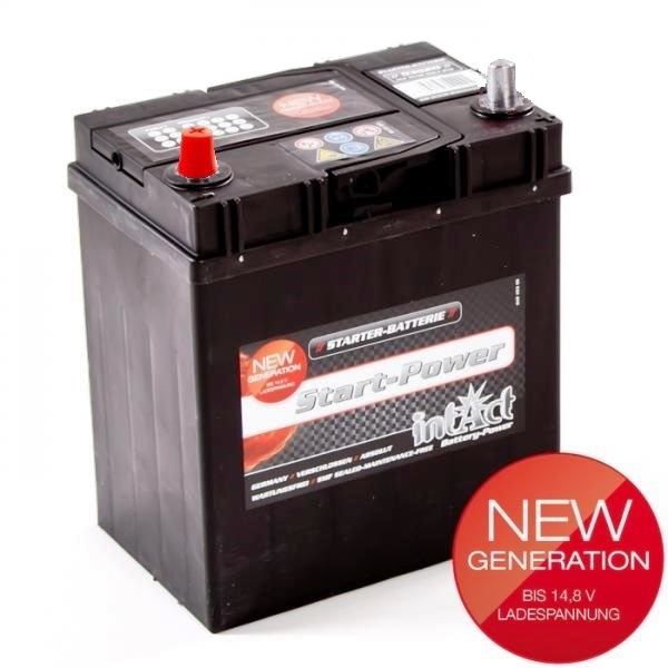 akumulator intact start power 12v 35ah asia l top start. Black Bedroom Furniture Sets. Home Design Ideas