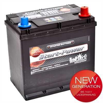 akumulator intact start power 12v 45ah fax d top start. Black Bedroom Furniture Sets. Home Design Ideas