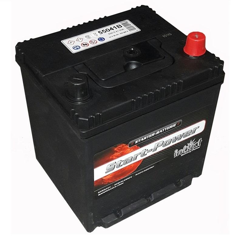 akumulator intact start power 12v 50ah asia d z robom. Black Bedroom Furniture Sets. Home Design Ideas