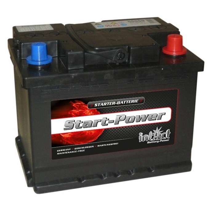 akumulator intact start power 12v 55ah d top start. Black Bedroom Furniture Sets. Home Design Ideas