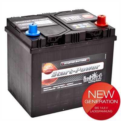 akumulator intact start power 12v 60ah asia d top start. Black Bedroom Furniture Sets. Home Design Ideas