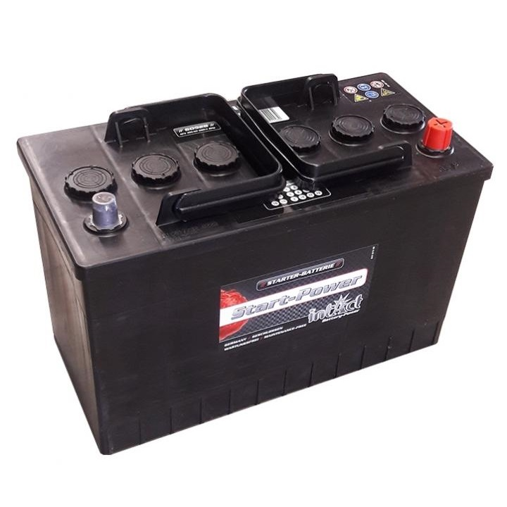 akumulator intact start power 12v 105ah top start. Black Bedroom Furniture Sets. Home Design Ideas