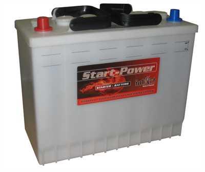 akumulator intact start power 12v 125ah top start. Black Bedroom Furniture Sets. Home Design Ideas