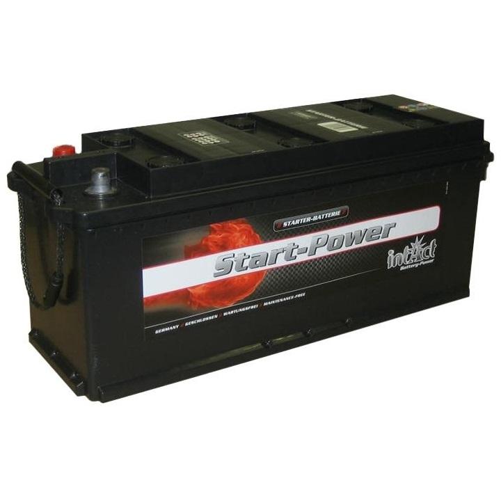 akumulator intact start power 12v 135ah top start. Black Bedroom Furniture Sets. Home Design Ideas