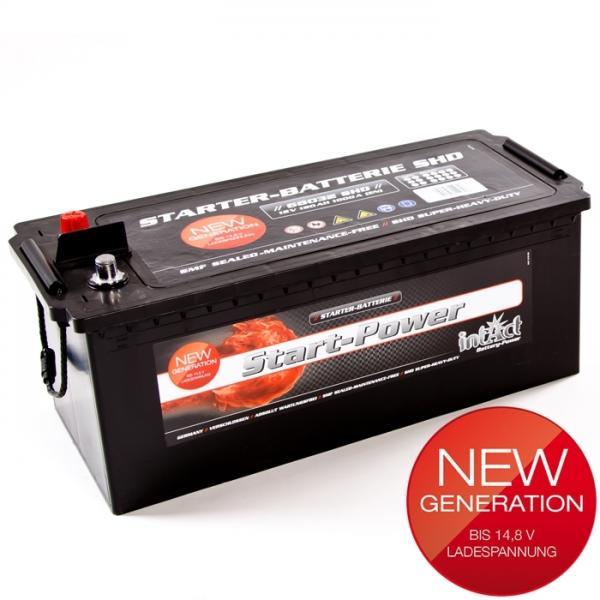 akumulator intact start power 12v 180ah top start. Black Bedroom Furniture Sets. Home Design Ideas