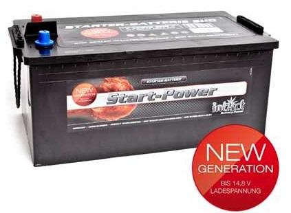 akumulator intact start power 12v 225ah top start. Black Bedroom Furniture Sets. Home Design Ideas