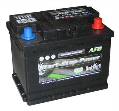intAct Start-Stop Power AFB 12V-60Ah