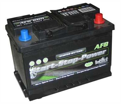 intAct Start-Stop Power AFB 12V-70Ah