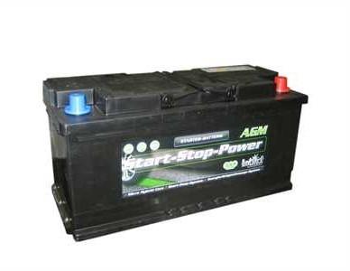 intAct Start-Stop Power AGM 12V-105Ah