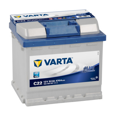Varta Blue Dynamic 12V-52Ah