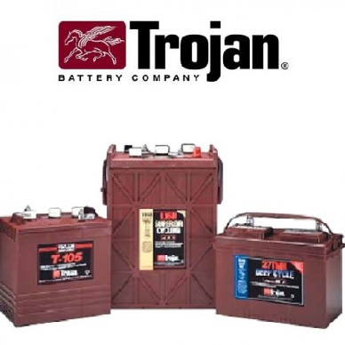Trakcijske baterije TROJAN do 700 ciklov