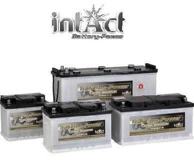 intAct Traktion-Power poltrakcijske baterije do 300 ciklov