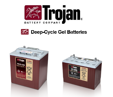 TROJAN Deep Cycle GEL baterije